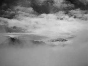 In the Clouds: Olympic Mountains